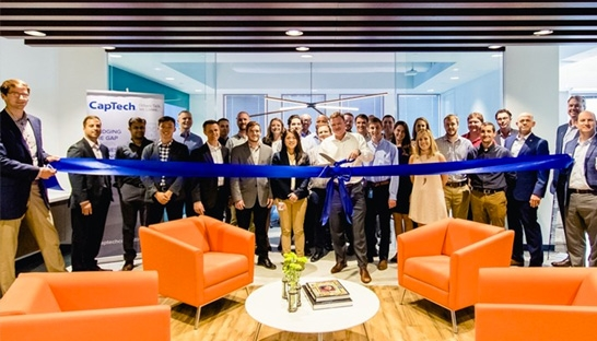 Captech expansion in atlanta creates 100 new tech for Innovation consulting atlanta