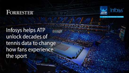 Infosys and ATP serve up AI tennis technology innovation