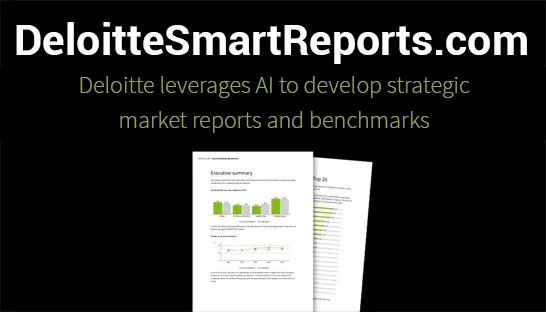 Deloitte leverages AI to develop strategic market reports and benchmarks