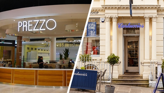 AlixPartners to restructure Prezzo while Carluccio's hires KPMG