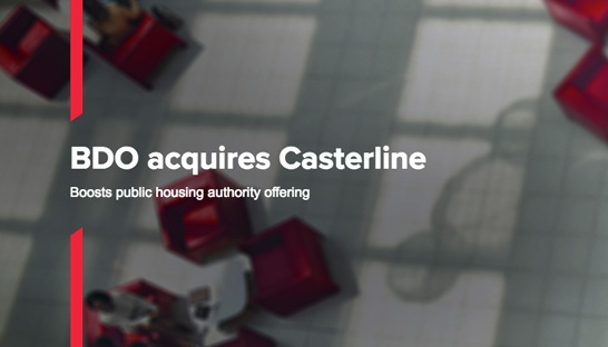 BDO boosts public housing authority offering with Casterline acquisition