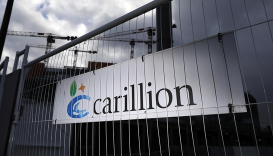 Big Four accused of 'feasting' on Carillion as combined £72 million fee revealed