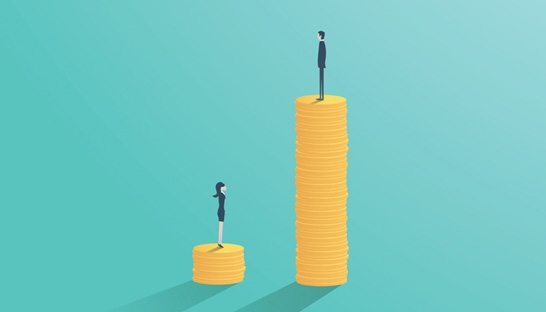 McKinsey & Company UK reports a 23% gender pay gap among staff