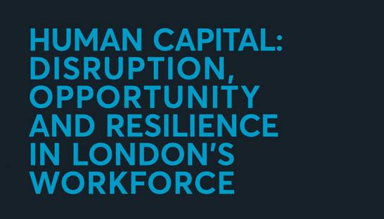 Perfect storm of disruption could axe London's workforce by a third