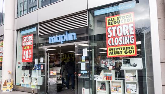 Maplin faces store closures as demise leaves creditors owed £150 million