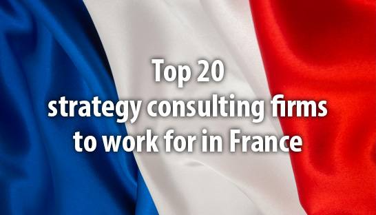 OC&C named one of France's top 20 strategy consulting firms