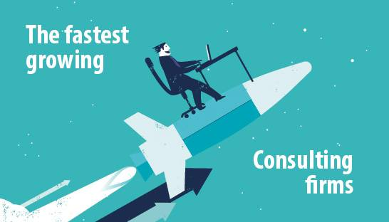 The fastest growing consulting firms and companies of Europe