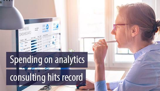 Global client spending on analytics consulting hits record $43 billion