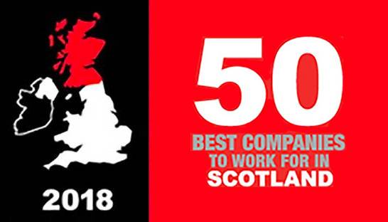 Five consulting firms named a best company to work for in Scotland