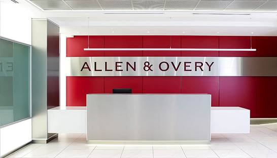 Law firm Allen & Overy launches regulatory consulting business