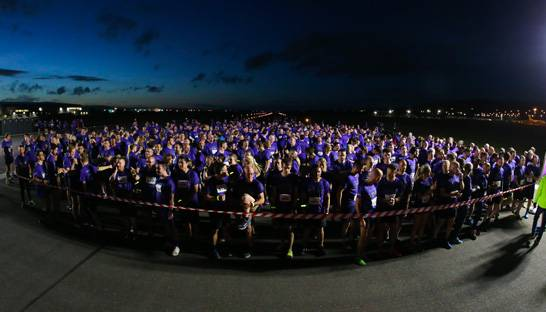 600 people take on Grant Thornton Runway Run