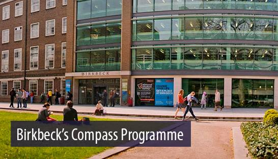 Consulting firm among proud sponsors of Birkbeck's Compass Project