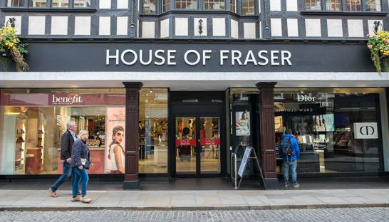 House of Fraser administrators defend Sports Direct deal