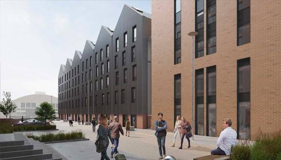 Mace's development plans for University of Sheffield approved