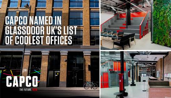 Capco's London office one of the 'coolest places to work' in UK