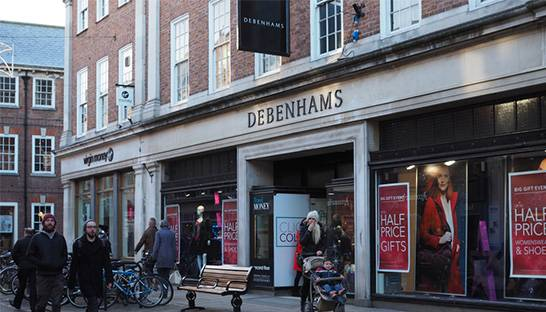 Debenhams calls in KPMG as it mulls store closures