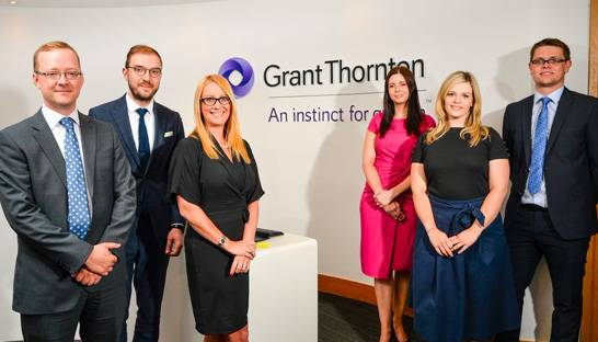Five new hires for Yorkshire wing of Grant Thornton