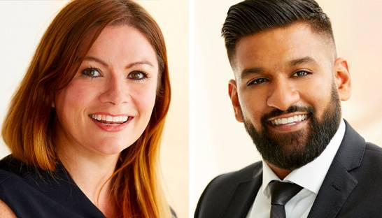 Siobhan Farlow and Nik Shah join Government arm of Odgers Interim
