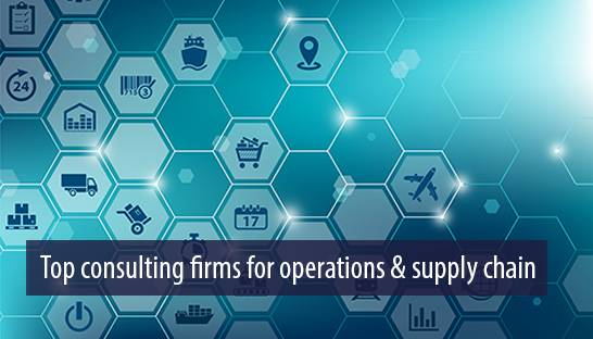 Top consulting firms for operations & supply chain in the UK