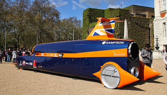 Administration sees Bloodhound 1,000mph car hit the brakes