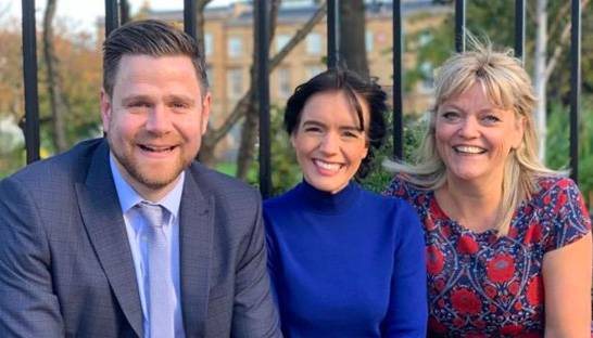 Trio of appointments bolster Glasgow consultancy Perceptive Communicators