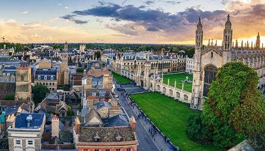 Cambridge leads UK's top 10 cities for new patent applications