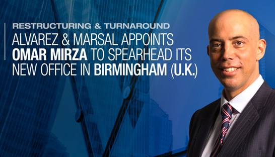 Alvarez & Marsal opens second UK office, in Birmingham