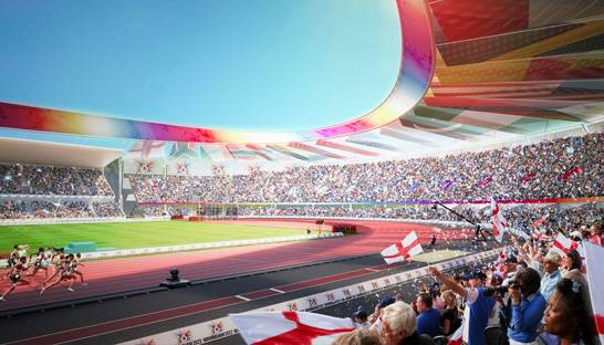Arup and Mace brought on board for Commonwealth Games stadium revamp