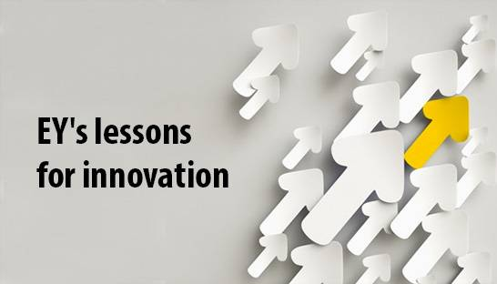EY's lessons for making innovation successful in professional services