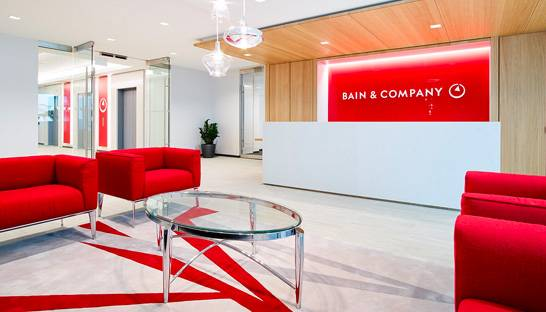 Bain is UK's top consultancy to work for according to employees