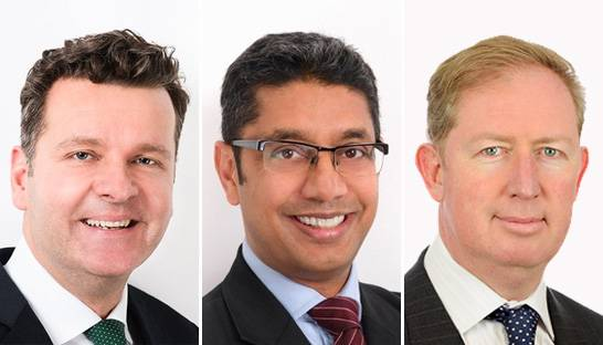 Efficio promotes Christo Zeller, Dap Wijeyeratne and James Cunningham