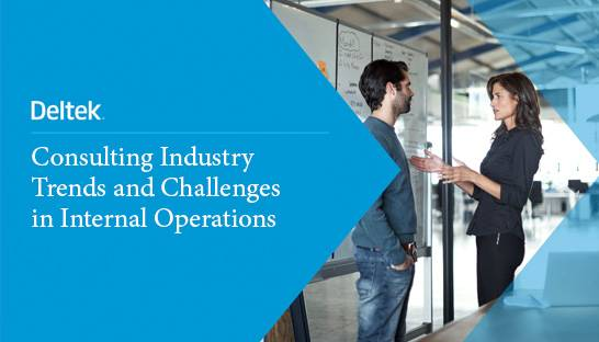 Trends impacting the internal operations of consulting firms