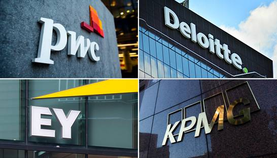 Big Four firms growing strongly in Germany and Australia