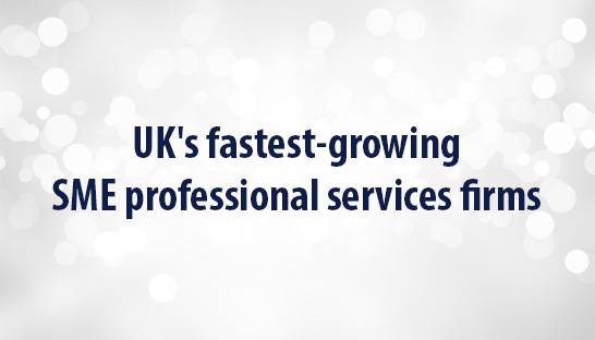 UK's fastest-growing SME professional services firms