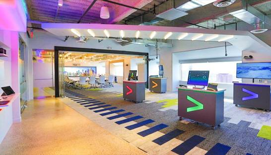 Accenture Interactive growing at well over 20%