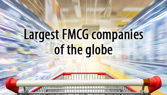 Largest FMCG companies of the globe enjoy moderate growth
