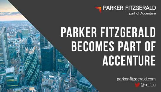 Accenture buys financial services consultancy Parker Fitzgerald