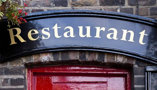 UK restaurant numbers slump for sixth consecutive quarter