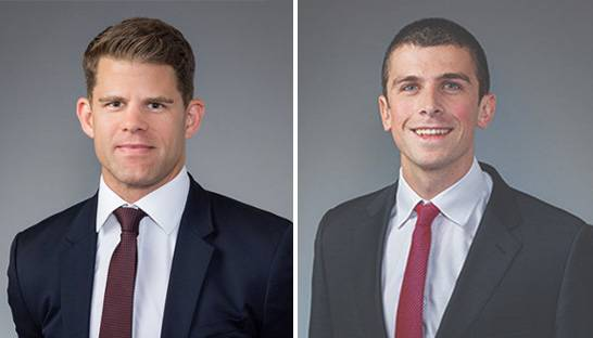 CIL promotes Liam McGuinness and James de la Salle