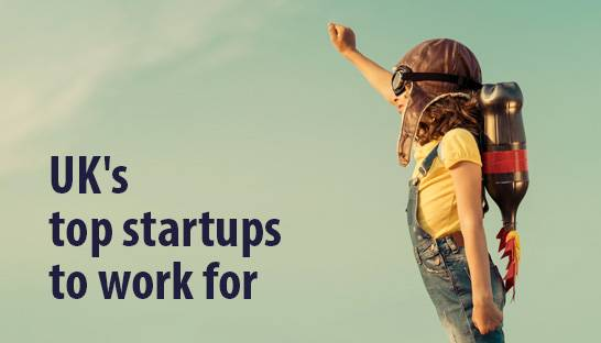 UK's top startups to work for according to talent