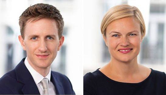 Agnes Greaves and Lorcan Lennon join Russell Reynolds in London