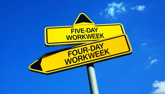 Quarter of business owners would consider four-day week