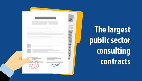 The largest public sector consulting contracts of Q3 2019