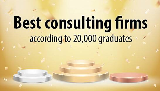 Best consulting firms according to 20,000 graduates