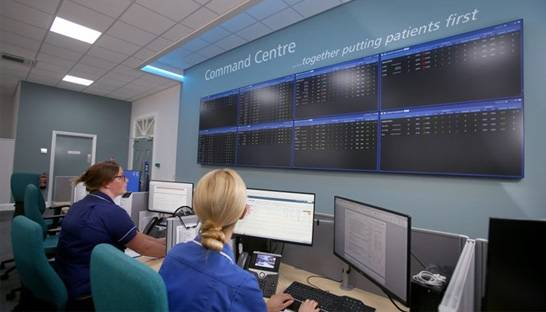 GE Healthcare helps Bradford Royal Infirmary manage resources