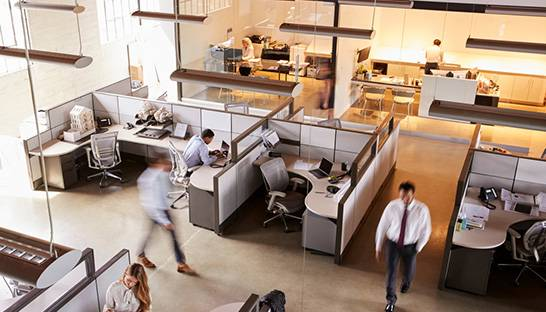 Increase office productivity with workplace planning software