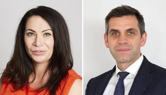 Claire Collins and Steve Cooper join property advisor Cluttons