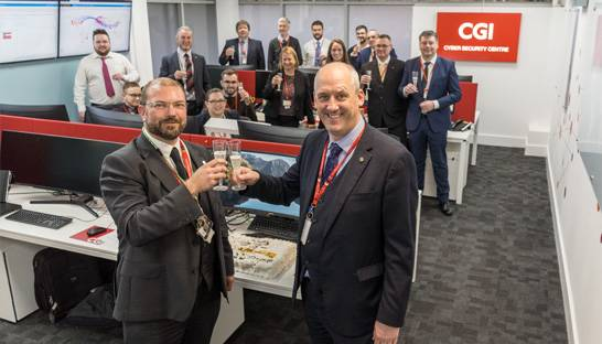 CGI opens Cyber Security Centre in Bridgend, Wales