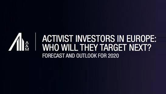 Activist investors more likely to target poor ESG performers