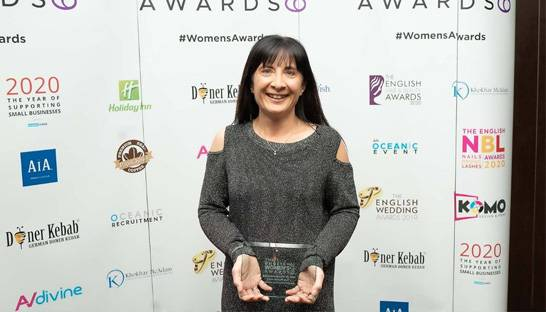 Entec Si director wins Business Woman of the Year award